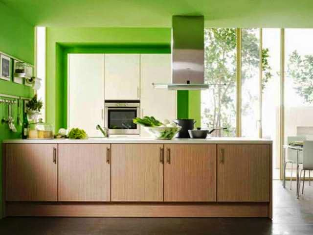 Wall paint colors for kitchen for Wall colour for kitchen
