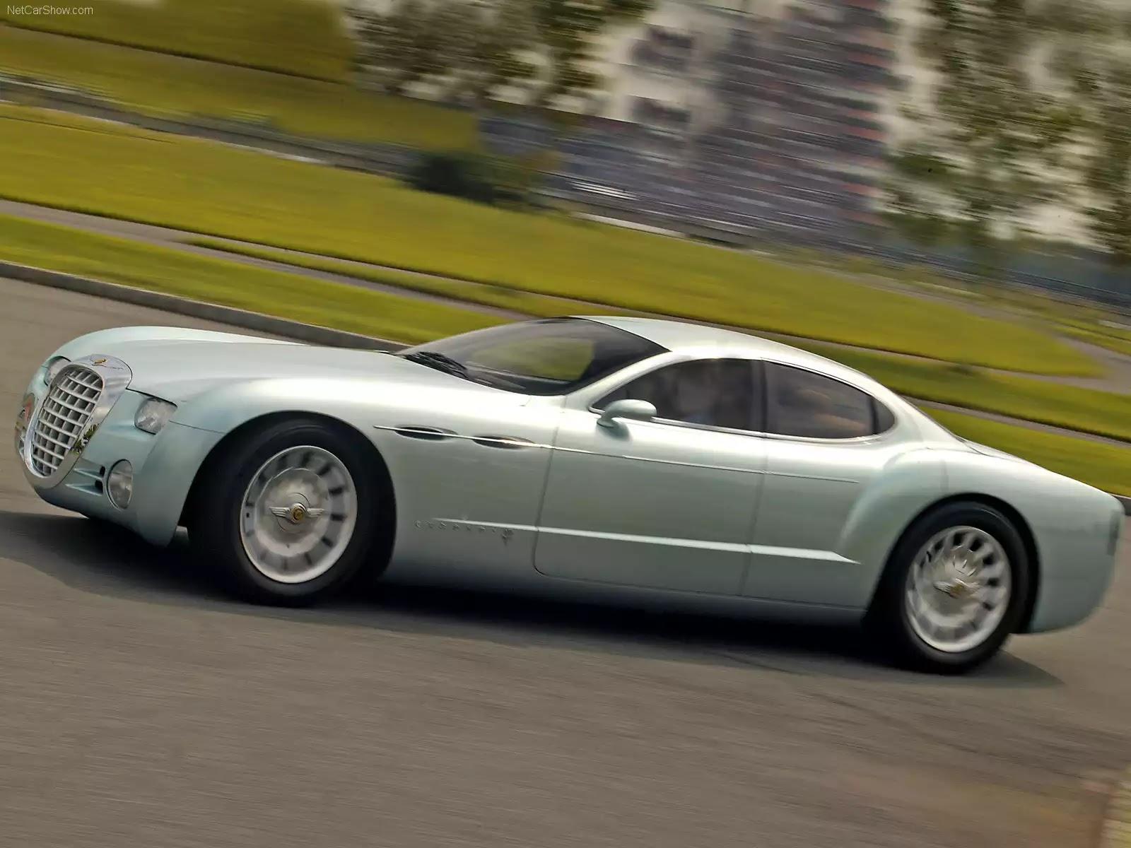 Hình ảnh xe ô tô Chrysler Chronos Concept 2000 & nội ngoại thất
