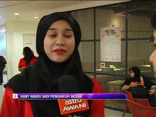 Malaysia, Hiburan, Artis Malaysia, Selebriti, Gala TV, Astro Awani, Memey, Abby, Abadi, jadi pengaruh, besar, memey suhaiza, abby abadi