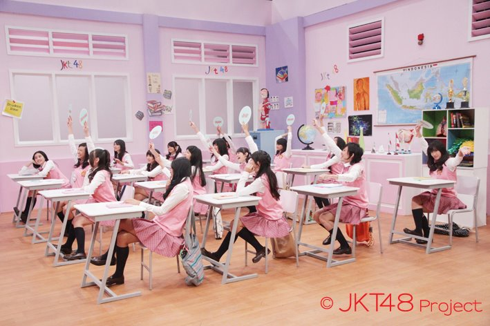 Foto JKT48 shool episode 6