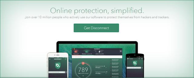 حماية الخصوصية ، الخصوصية في شبكة الويب ، خدمة Disconnect ، تحميل Disconnect ، أداة Disconnect ، منع المواقع من تعقبي ، كيفية منع المواقع من تعقبي
