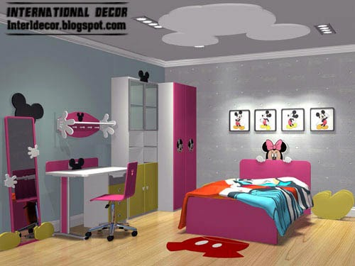 mickey mouse kids room theme, kids room themes decorating ideas
