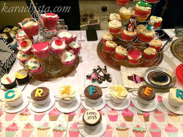 Cupcakes at Crafter's Expo Karachi