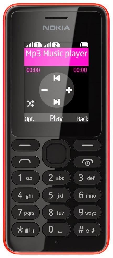 Nokia 108 (single SIM) - Nokia 108 Dual SIM