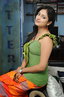 Actress Haripriya Exclusive  Pictures at Glitters Film Academy Banjara Hills Hyderabad  15.JPG