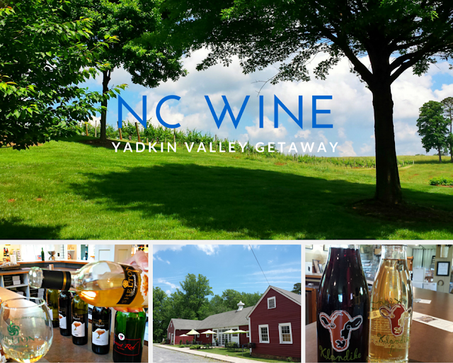 NC Wine Getaway on HinesSightBlog; perfect for a girl's getaway. Yadkin Valley Wine Region.
