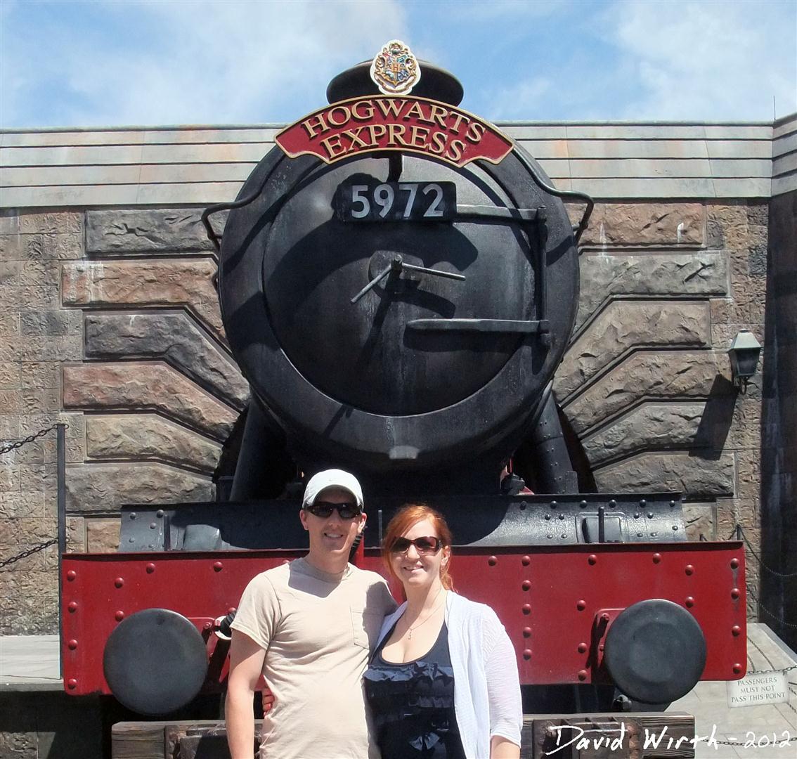 Hogwarts express front