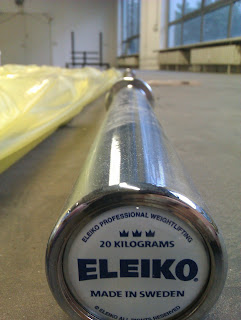 CrossFit Eleiko Weightlifting Bar