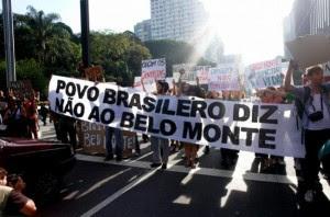 Brasil: ATIVISTAS PODEM SER PRESOS POR PROTESTO CONTRA BELO MONTE