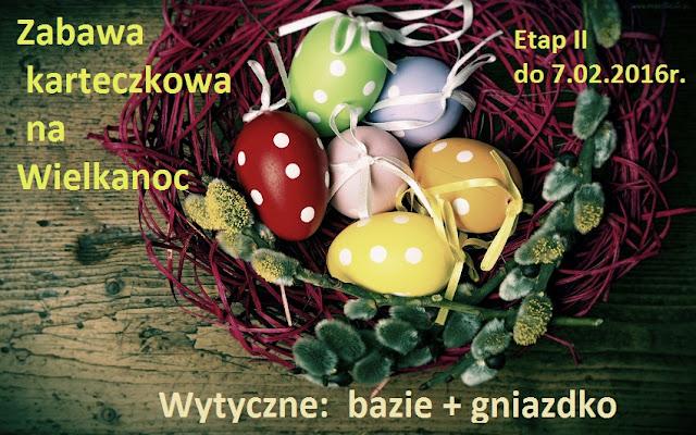 Zabawa karteczkowa na Wielkanoc
