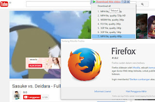 Download Mozilla Firefox 41.0.2 Terbaru offline Installer.