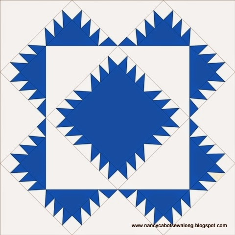 Free Floral Rag Quilt Pattern