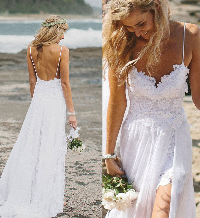 Beach Wedding Dresses For Your Special Moment