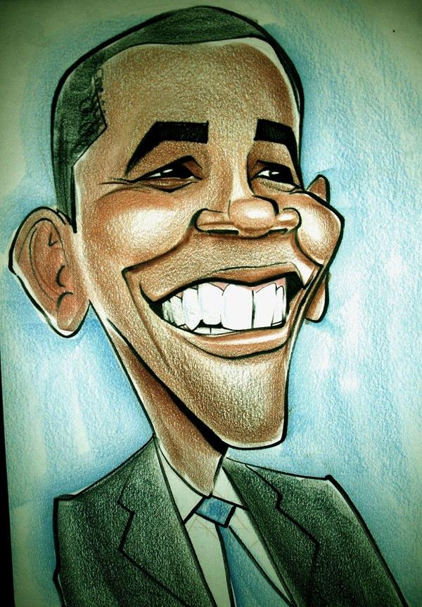 Engraçadas caricaturas de famosos