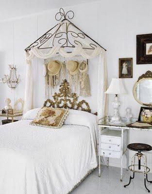 Idehadas interior design recurso dosel - Dormitorios vintage chic ...