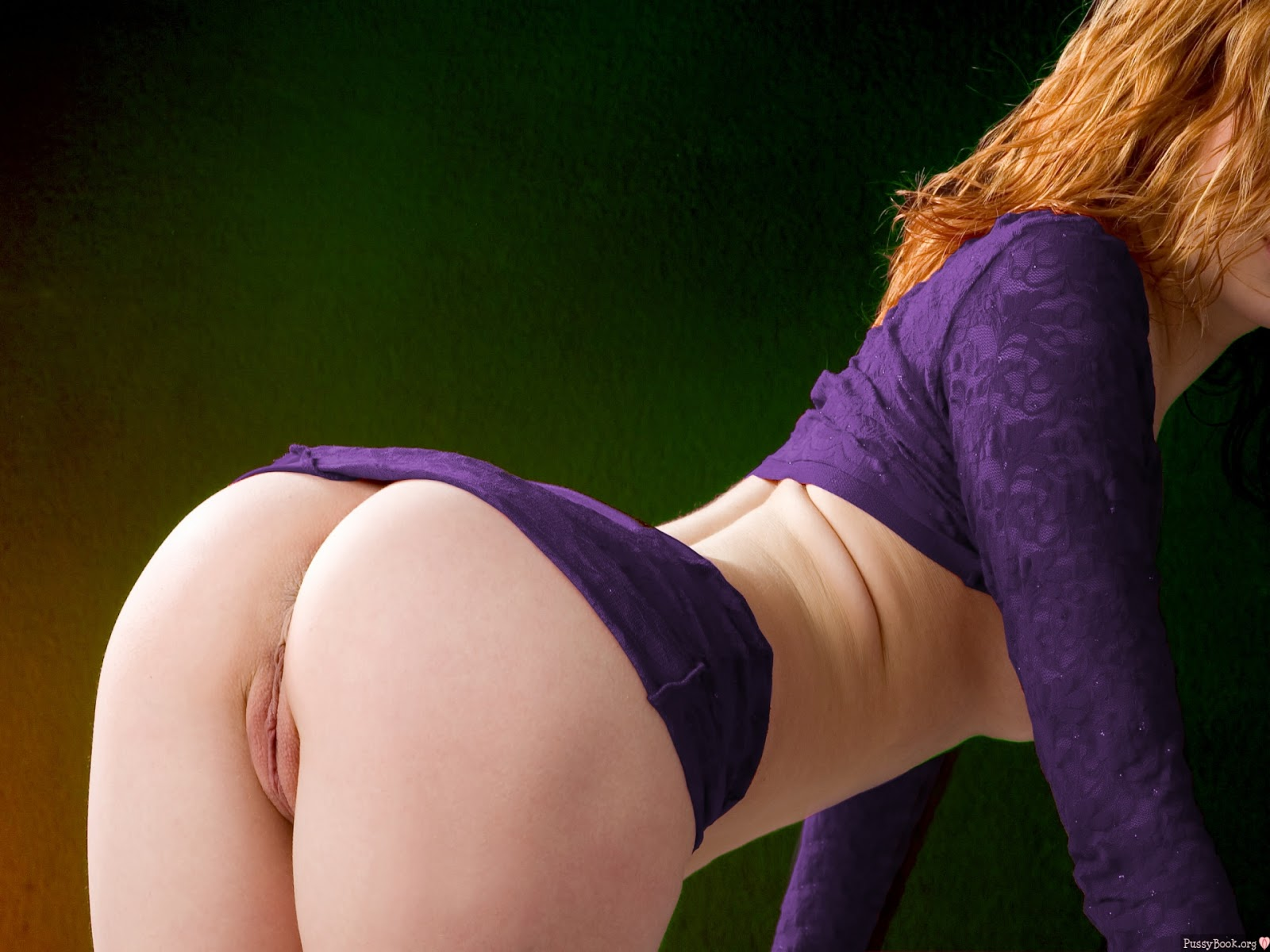 Redheads nude bent over