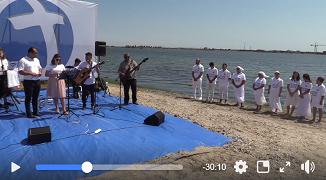VIDEO: Botez la Marea Neagră