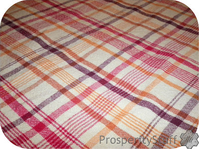Tablecloth to make into towels & washcloths