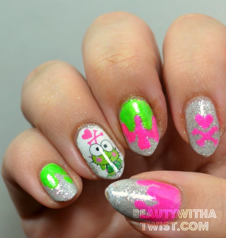 Beauty With A Twist Tokidoki X Sanrio Nail Art
