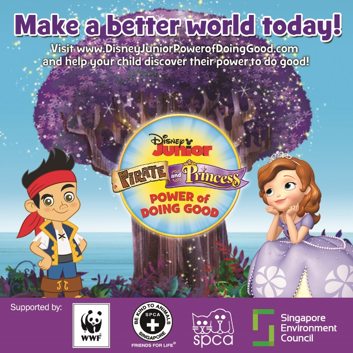 """Pirate & Princess : Power of Doing Good"" Terbaru Dari Disney Junior"
