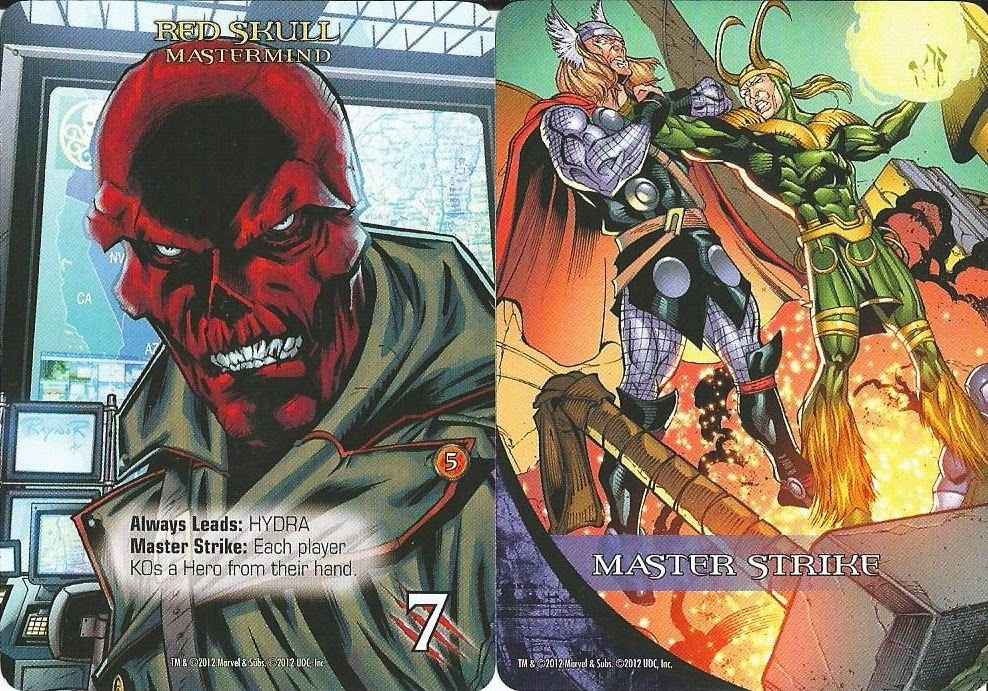 Cartas de Villano Legendary Marvel