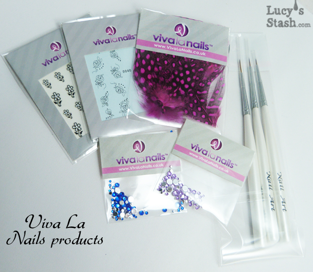 Lucy's Stash - Viva La Nails products
