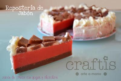 Pastel de jabon Craftis Arte a Mano