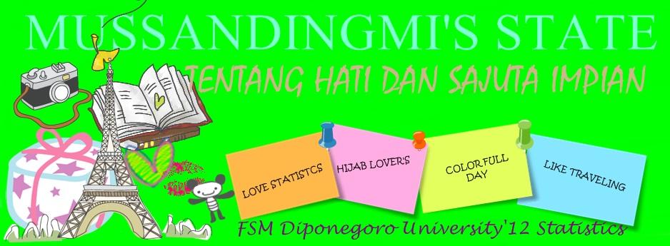 Mussandingmi's Blog