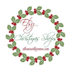 Etsy Christmas Shops from At Home With Jemma
