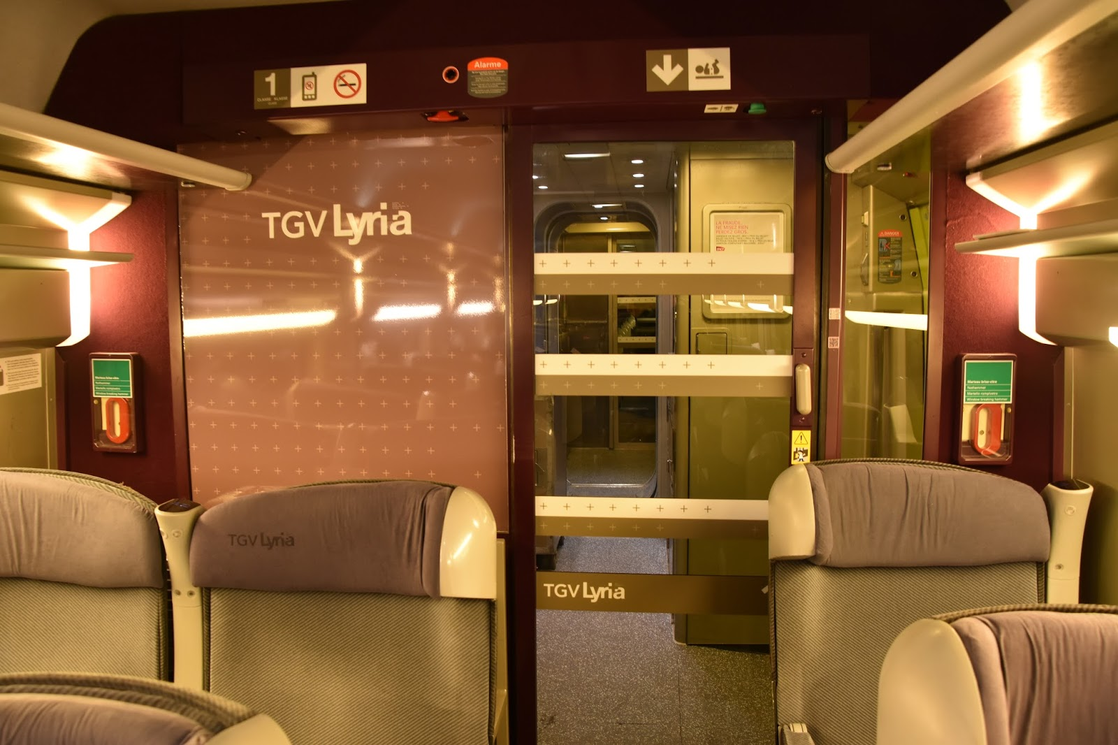 Trains and other things: Zürich to Paris by TGV Lyria