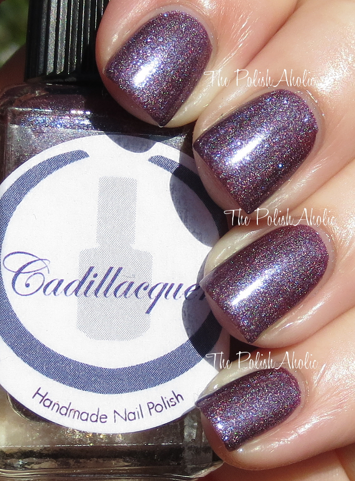 The PolishAholic: Cadillacquer Breaking Bad Collection Swatches