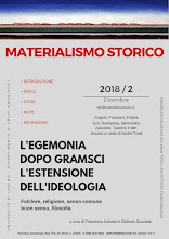 """E' on line il quinto numero di """"Materialismo Storico"""" (2/2017)"""
