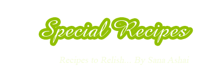 Special Recipes
