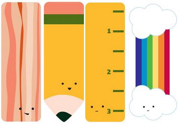Marcadores de livros - bookmarks