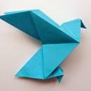 Tutoriel pour réaliser des colombes origami
