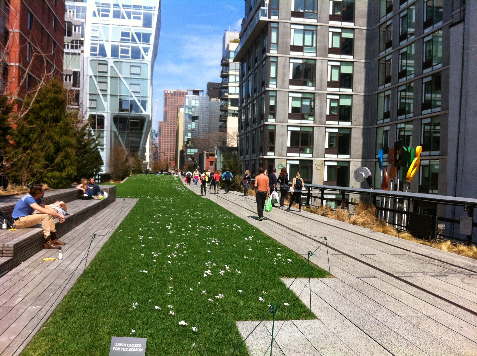 Outdoorsy mama urban hiking in new york city the high for New york city highline
