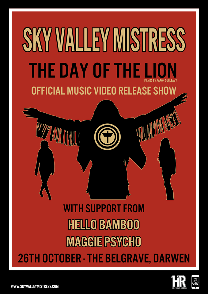Sky Valley Mistress release video for The Day Of The Lion