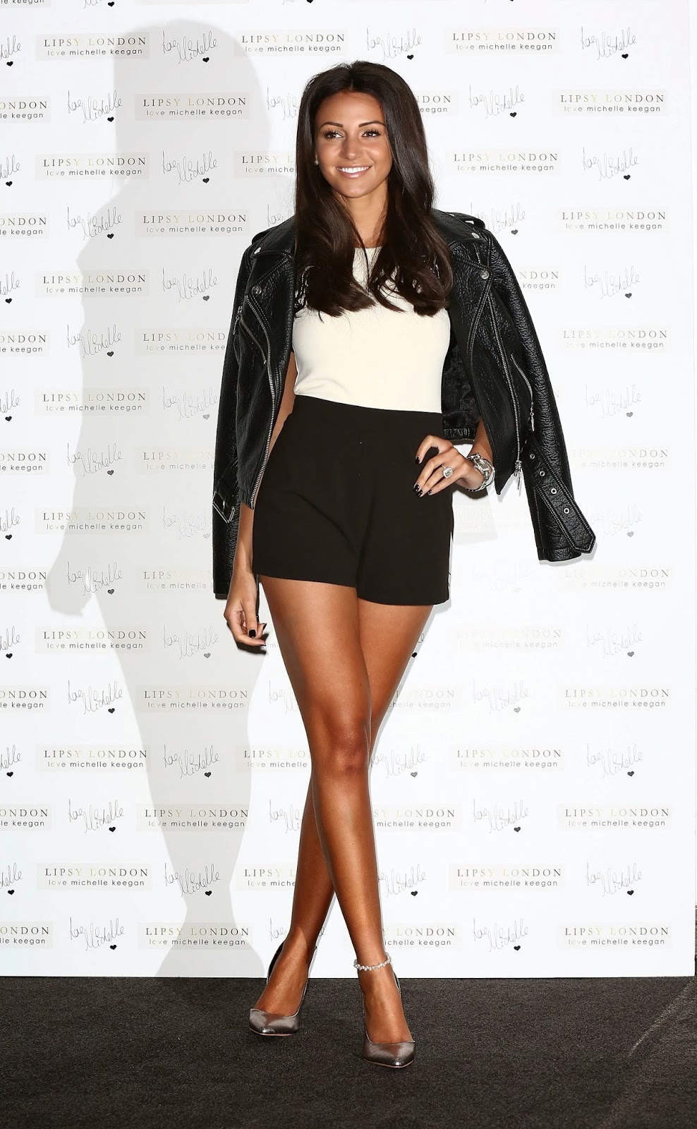 Michelle Keegan's hot legs at 'Lipsy' Photocall at ME Hotel, London