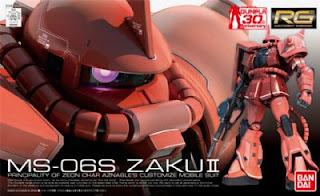 Real Grade 1/144 MS-06S Zaku II