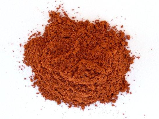 Il pigmento rosso ricavato dalla terra colorante del monte Baldo