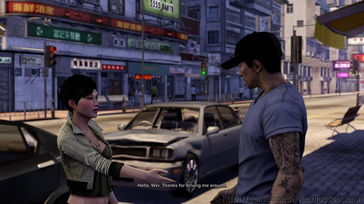 Peggy introduces herself to Wei Shen