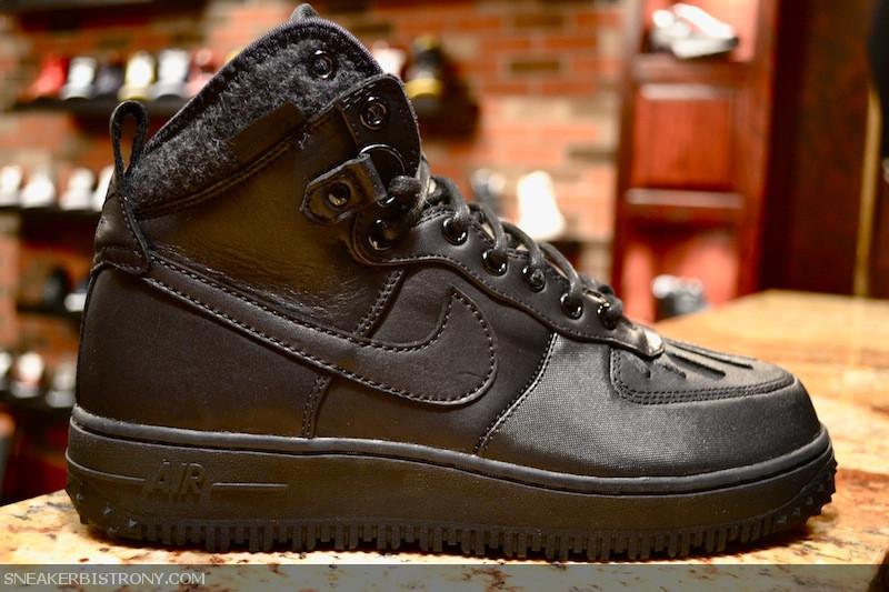 waterproof black nike air force one