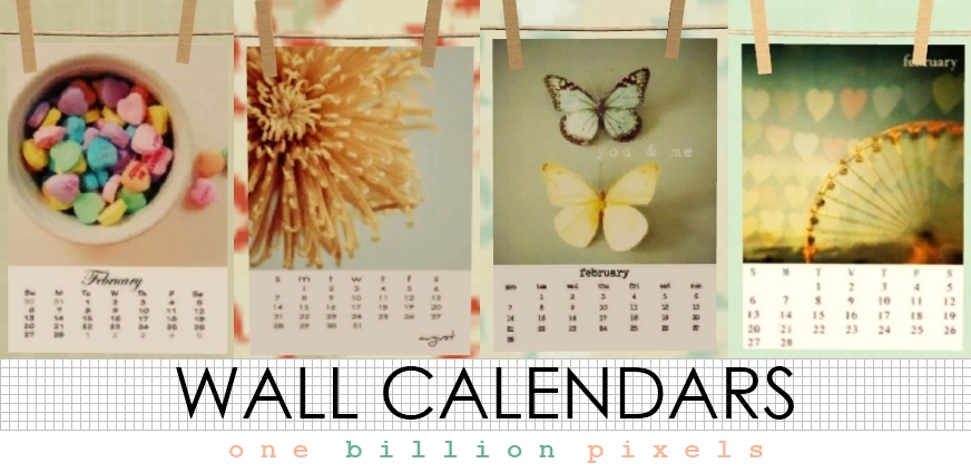 Calendar Wall Art : Wall art paintings calendars one billion pixels