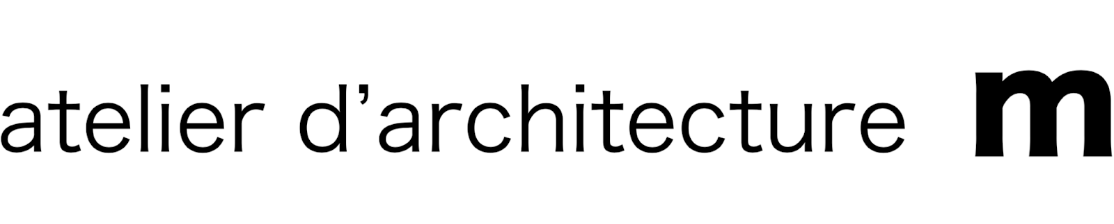 atelier d'architecture m