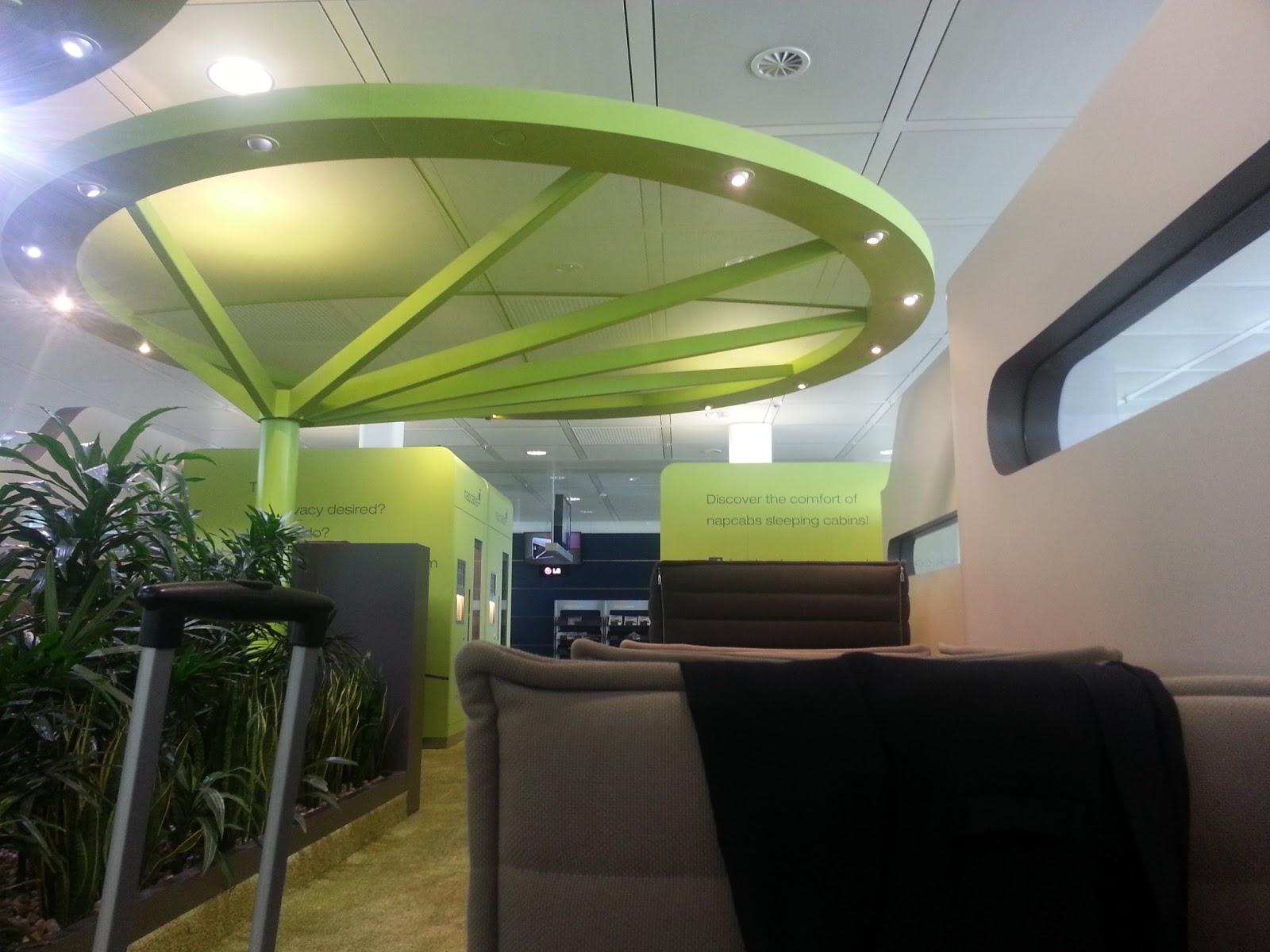 Места за отдих на летището в Мюнхен