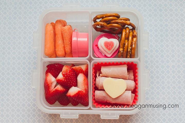 Valentine Hearts Bento