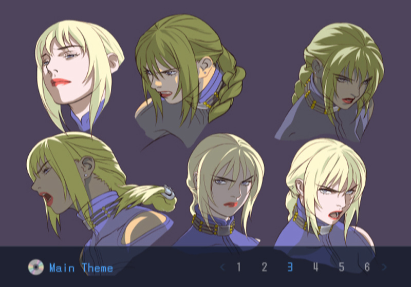 Death by Degrees Nina Williams Character Concept Art
