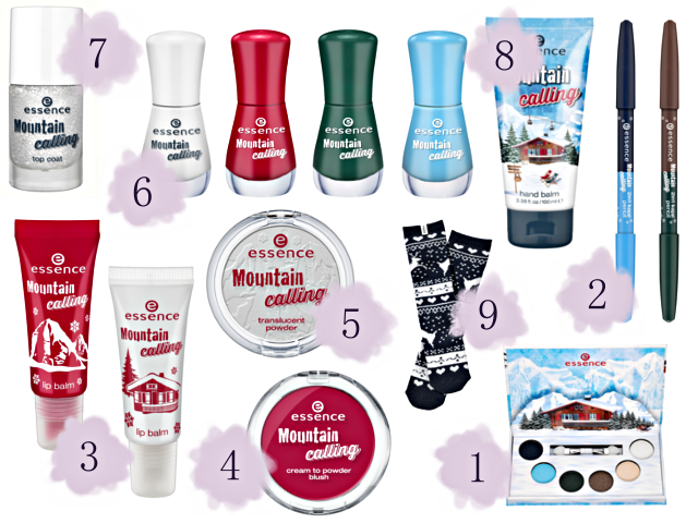 Preview essence Mountain Calling - limited Edition (LE) - Dezember 2014