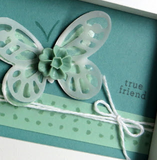 Stampin' Up! Watercolor Wings Mini Framed Art #stampinup www.juliedavison.com