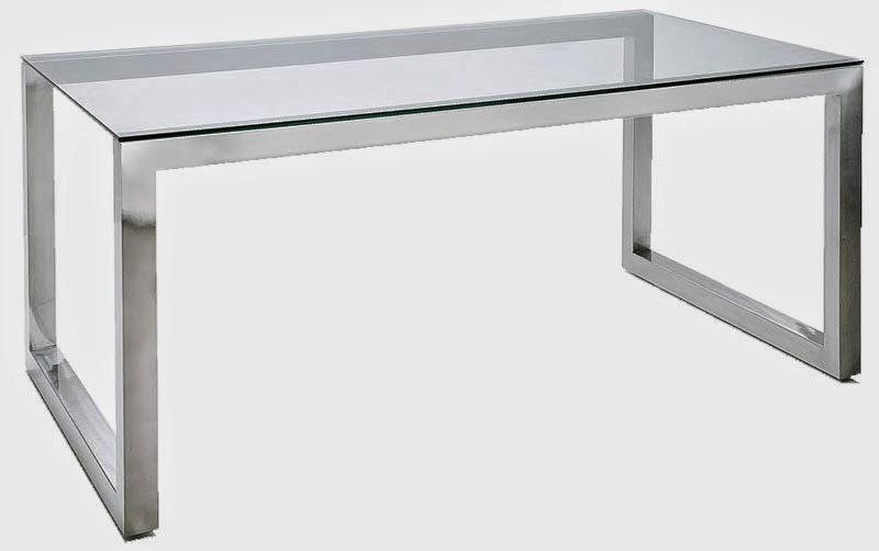 Mesa salon comedor, mesa de acero